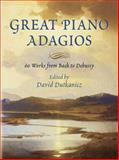Great Piano Adagios, , 0486446301