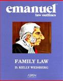Family Law : Aspen Roadmap Law Course Outline, Weisberg, D. Kelly, 0735546304