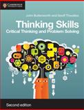 Thinking Skills, John Butterworth and Geoff Thwaites, 1107606306
