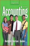 Accounting (Chapters 12 - 26), Horngren, Charles T. and Harrison, Walter T., 0131436309