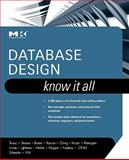Database Design, Teorey, Toby J. and Inmon, William H., 0123746302