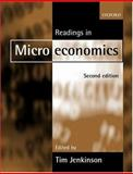 Readings in Microeconomics, Jenkinson, Tim, 0198776306
