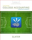 College Accounting Chapters 1-12 with Study Guide and Working Papers, Slater, Jeffrey, 0133866300