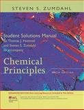 Student Solutions Manual for Zumdahl's Chemical Principles with OWL, Enhanced Edition, 6th, Zumdahl, Steven S., 1111426309
