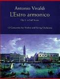 L' Estro Armonico, Op 3, in Full Score, Antonio Vivaldi, 0486406318