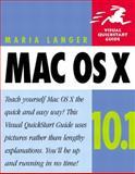 Mac OS X 10.1, Langer, Maria, 0321116313