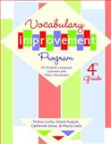 Vocabulary Improvement Program for English Language Learners and Their Classmates, 4th Grade, Lively, Teresa and August, Diane, 1557666318