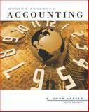 Accounting : Modern Advanced Accounting with Dynamic Accounting PowerWeb, Larsen, E. John, 0072936312
