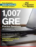 1,007 GRE Practice Questions 4th Edition