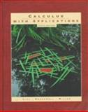 Calculus with Applications, Greenwell, Raymond N., 0321016319