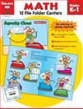 File Folder Centers Math, The Mailbox Books Staff, 1562346318