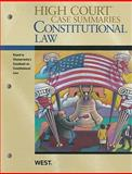 Constitutional Law, Keyed to Chemerinsky, West Law School, 0314266321