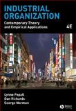 Industrial Organization : Contemporary Theory and Empirical Applications, Pepall, Lynne and Richards, Dan, 1405176326