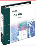 Math on File : Algebra, Alexander, James, 0816046328