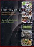 Entrepreneurship and Effective Small Business Management, Scarborough, Norman M. and Cornwall, Jeffrey R., 0133506320