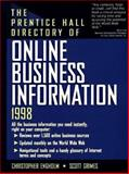 Prentice Hall Directory of Online Business Information 1998 9780136406327