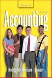 Accounting (Chapters 1-13), Horngren, Charles T. and Harrison, Walter T., 0131436325