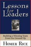 Lessons for Leaders, Homer Rice, 1563526328