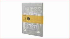 Moleskine Community Cover Art Press the Button Ruled Letter Journal, Moleskine, 8862936338