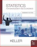 Statistics for Management and Economics 9780324376333
