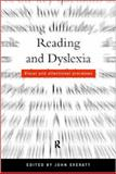 Reading and Dyslexia : Visual and Attentional Processes, , 0415206332
