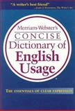 Merriam-Webster's Concise Dictionary of English Usage, Merriam-Webster, Inc. Staff, 0877796335