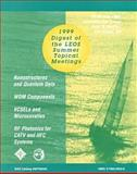1999 Digest of the LEOS Summer Topical Meetings 9780780356337
