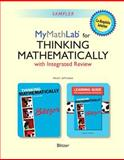 Thinking Mathematically with Integrated Review and Worksheets Plus NEW MyMathLab with Pearson EText -- Access Card Package, Blitzer, Robert F., 0321986342
