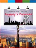 Anybody's Business, Van Syckle, Barbara and Tietje, Brian, 0136086349