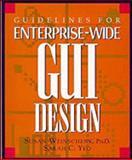 Guidelines for Enterprise-Wide GUI Design, Weinschenk, Susan, 0471126349