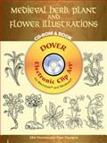 Medieval Herb, Plant and Flower Illustrations, , 0486996344