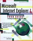 Microsoft Internet Explorer 4 Tour Guide, Haskin, David, 1566046351