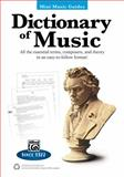 Mini Music Guides -- Dictionary of Music, L. C. Harnsberger, 0739096354