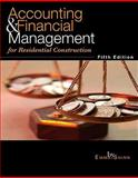 Accounting and Financial Management for Residential Construction, Shinn, Emma S., 0867186356