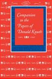 Companion to the Papers of Donald Knuth, Knuth, Donald Ervin, 1575866358
