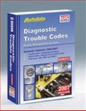2007 Domestic Diagnostic Trouble Code Manual (1994-2007), Autodata, 1893026353