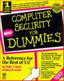 Computer Security and Privacy for Dummies, Davis, Wayne R., 1568846355