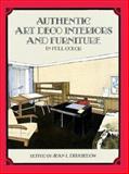 Authentic Art Deco Interiors and Furniture in Full Color, , 0486296350