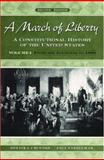 A March of Liberty Vol. I : A Constitutional History of the United States - From the Founding to 1890, Urofsky, Melvin I. and Finkelman, Paul, 0195126351