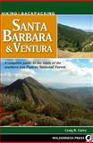 Hiking and Backpacking Santa Barbara and Ventura, Craig R. Carey, 0899976352