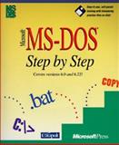 Microsoft MS-DOS Step by Step : Versions 6.0 and 6.2, Catapult, Inc. Staff, 1556156359