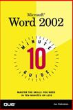 Microsoft Word 2002, Joe Habraken, 078972636X