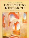 Exploring Research, Salkind, Neil J., 0135206367