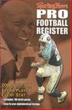 Pro Football Register 2000, Sporting News, 0892046368