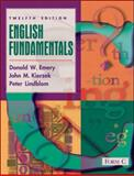 English Fundamentals, Emery, Donald W. and Kierzek, John M., 0321096363