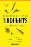 Discrete Thoughts : Essays on Mathematics, Science and Philosophy, Kac, Mark and Rota, Gian-Carlo, 0817636366