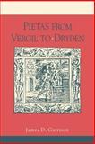 Pietas from Vergil to Dryden, Garrison, James D., 0271026367