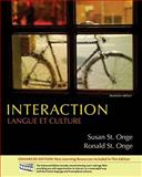 Interaction : Langue et Culture, St. Onge, Susan and St. Onge, Ronald, 0495916366