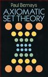 Axiomatic Set Theory, Bernays, Paul, 0486666379