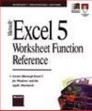MS Excel 5.0 Worksheet Function Reference, Microsoft Official Academic Course Staff, 1556156375
